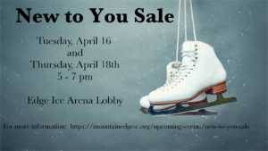 New to You Sale @ Edge Ice Arena Lobby