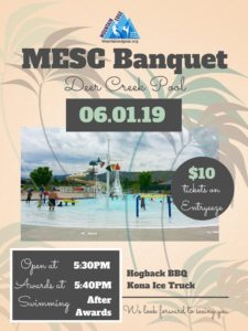 Annual Banquet & General Meeting @ Deer Creek Pool